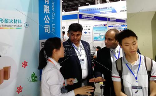 2018国际热能科技博览会举办 郑州东方炉衬应邀参加交流