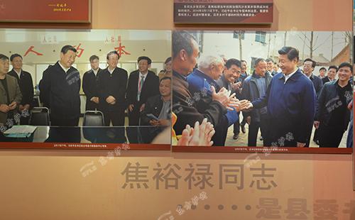 东方炉衬参观焦裕禄纪念馆图三