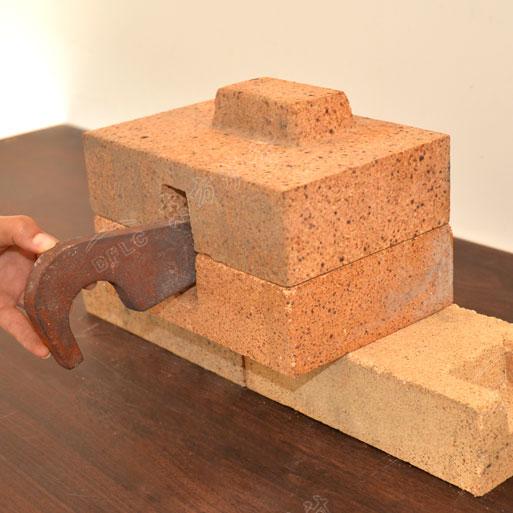 磷酸盐结合高铝拉钩砖