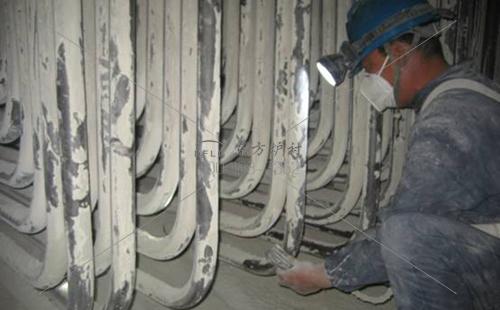 循环流化床锅炉防磨方式