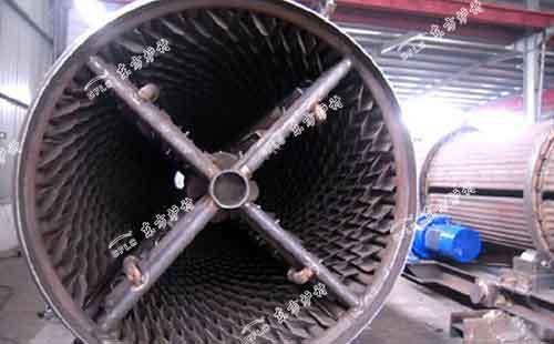 滚筒冷渣器排渣