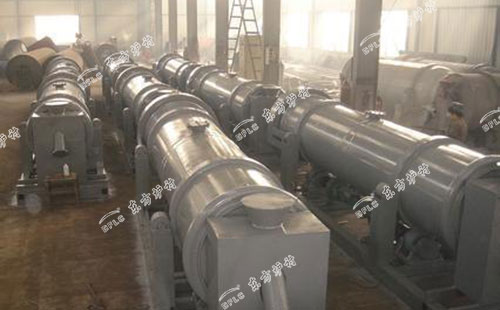 循环流化床锅炉用滚筒冷渣器
