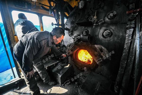 锅炉磨损检查