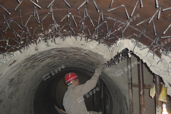 锅炉浇注料砌筑施工