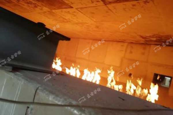 耐火浇注料烘炉